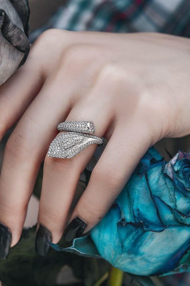 انگشتر نقره میکرو
